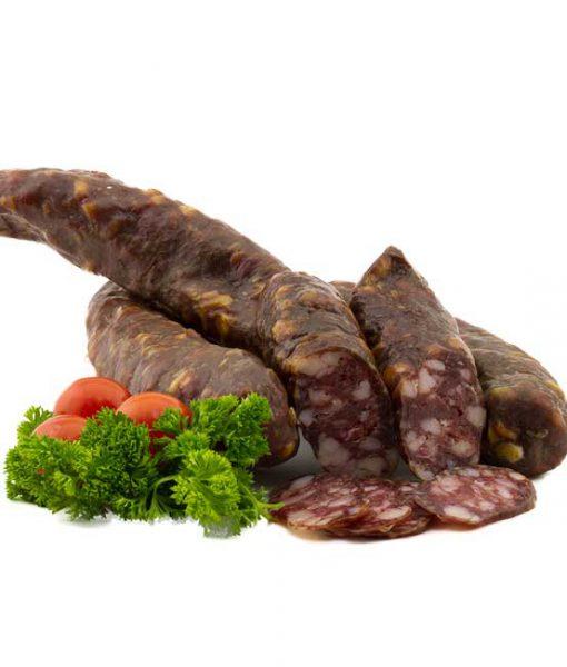 Kaernter-Hartwuerstel geraeuchert