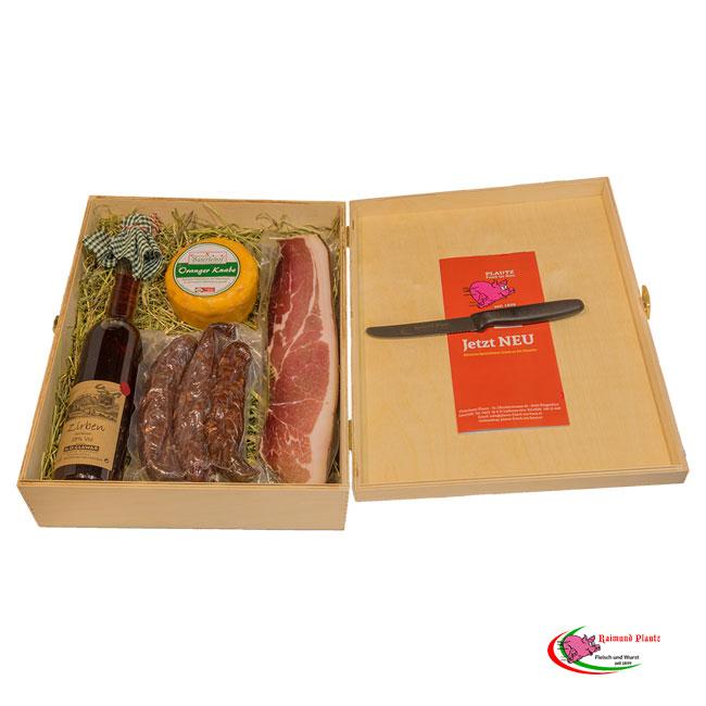 1a6770f8803d38 Genussbox Plautz + Jausenmesser GRATIS - Lebensmittel Online ...