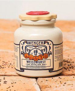 Wenger-Weisswurstsenf-Steinguttopf-250g
